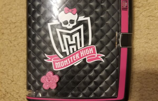 Talking Monster High Password Journal